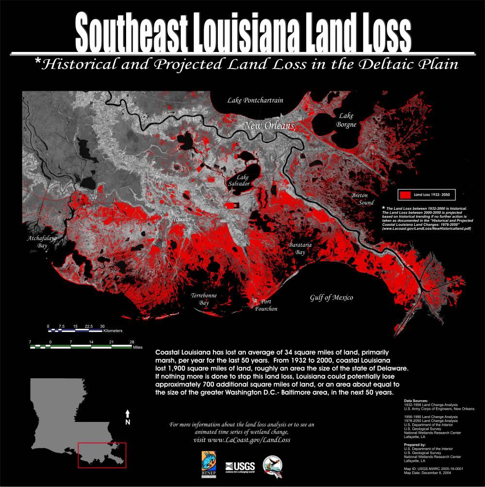 Maps - Coastal wetlands map us